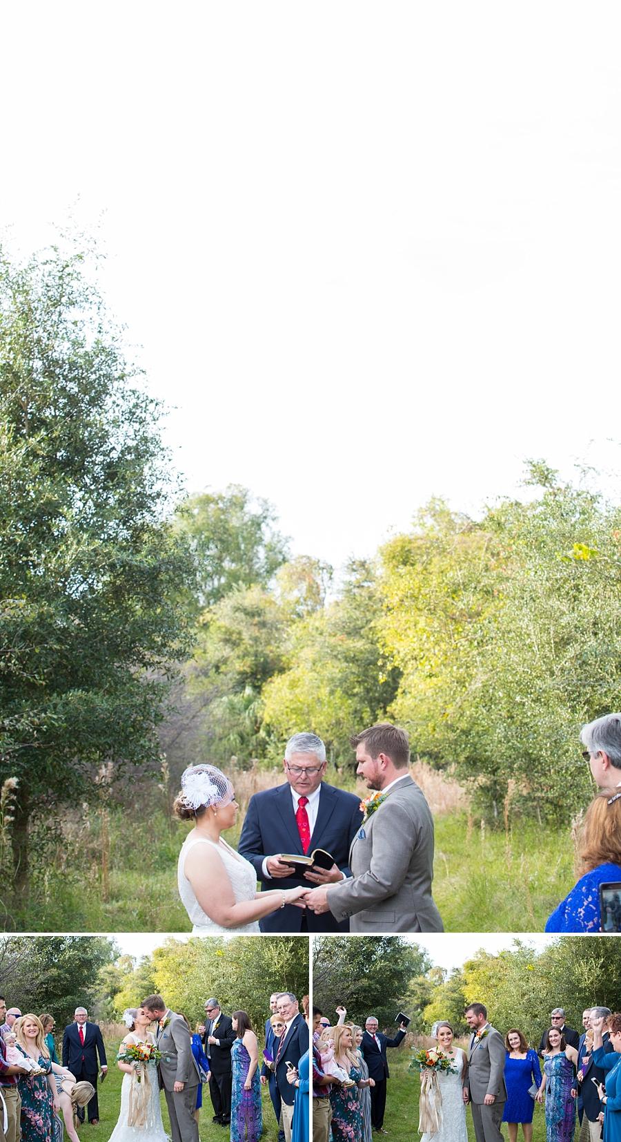 wedding ceremony paynes prairie