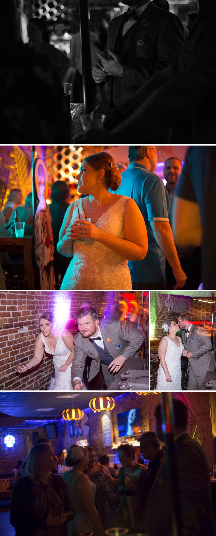 elopement photos in Barcade gainesville