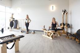 pilates studio with owners