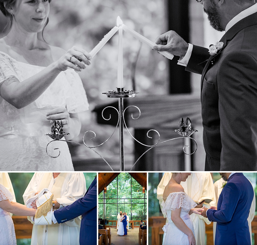 Wedding at Trinity United's Chapel