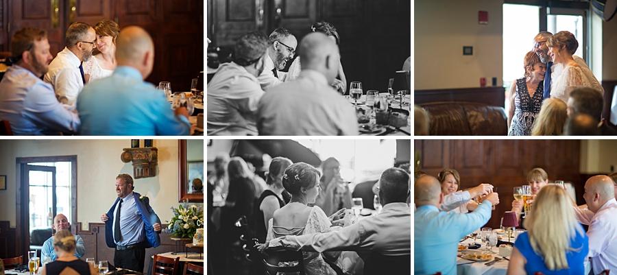 Wedding dinner at Marks Prime Steakhouse