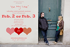 Valentine Mini Portrait Session in Winston-Salem and Greensboro NC | Adrienne Fletcher Photography