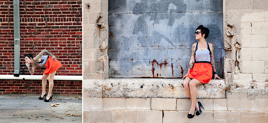 Bombshell Sessions North Carolina | Adrienne Fletcher Photography
