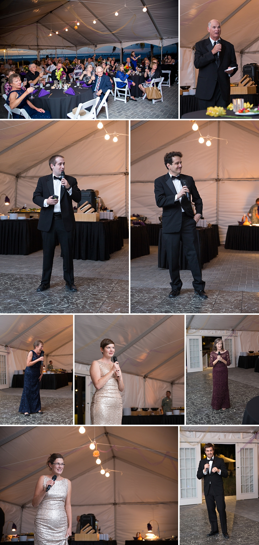 speeches at the wedding reception