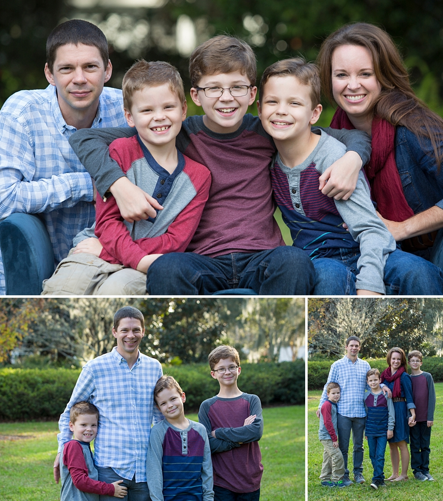 big family portraits gainesville