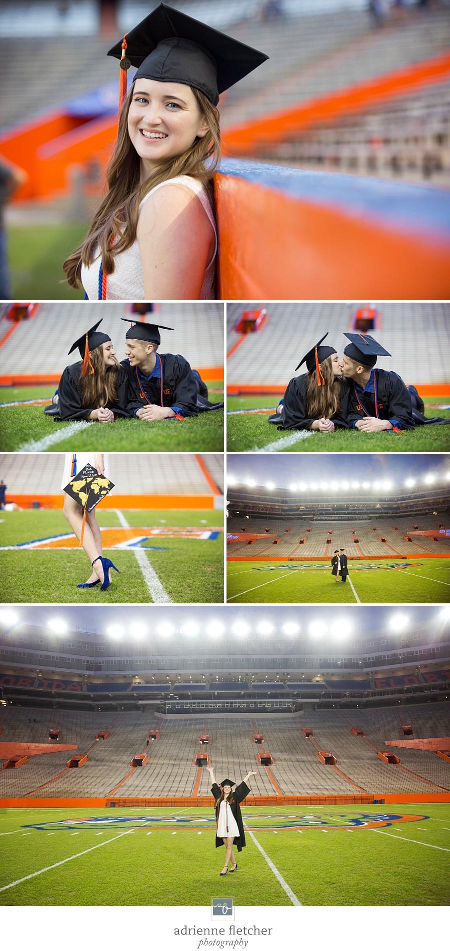 UF college graduate, graduation UF stadium