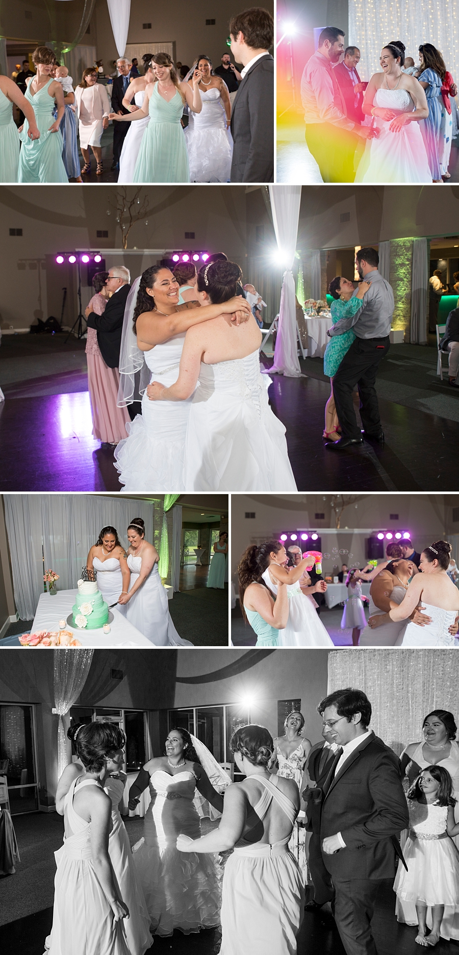wedding reception and dance party