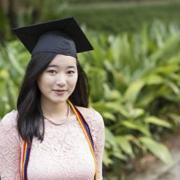 UF senior graduation photo