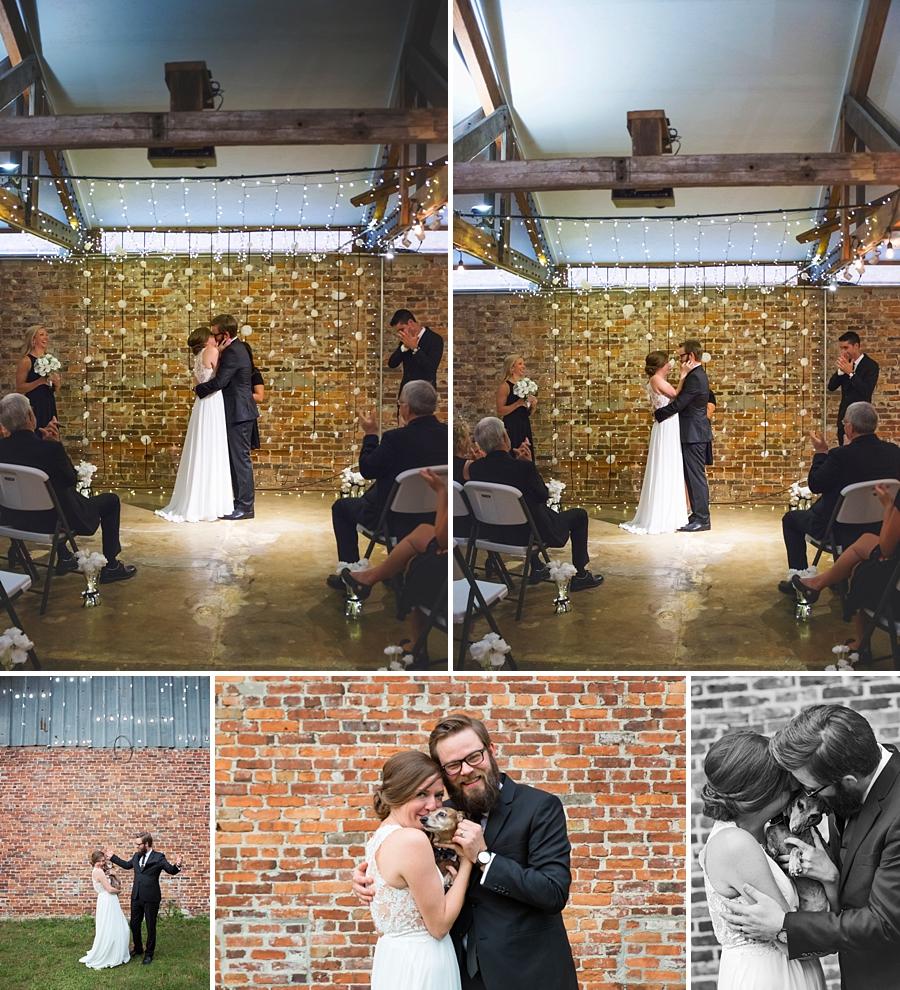 end of wedding ceremony