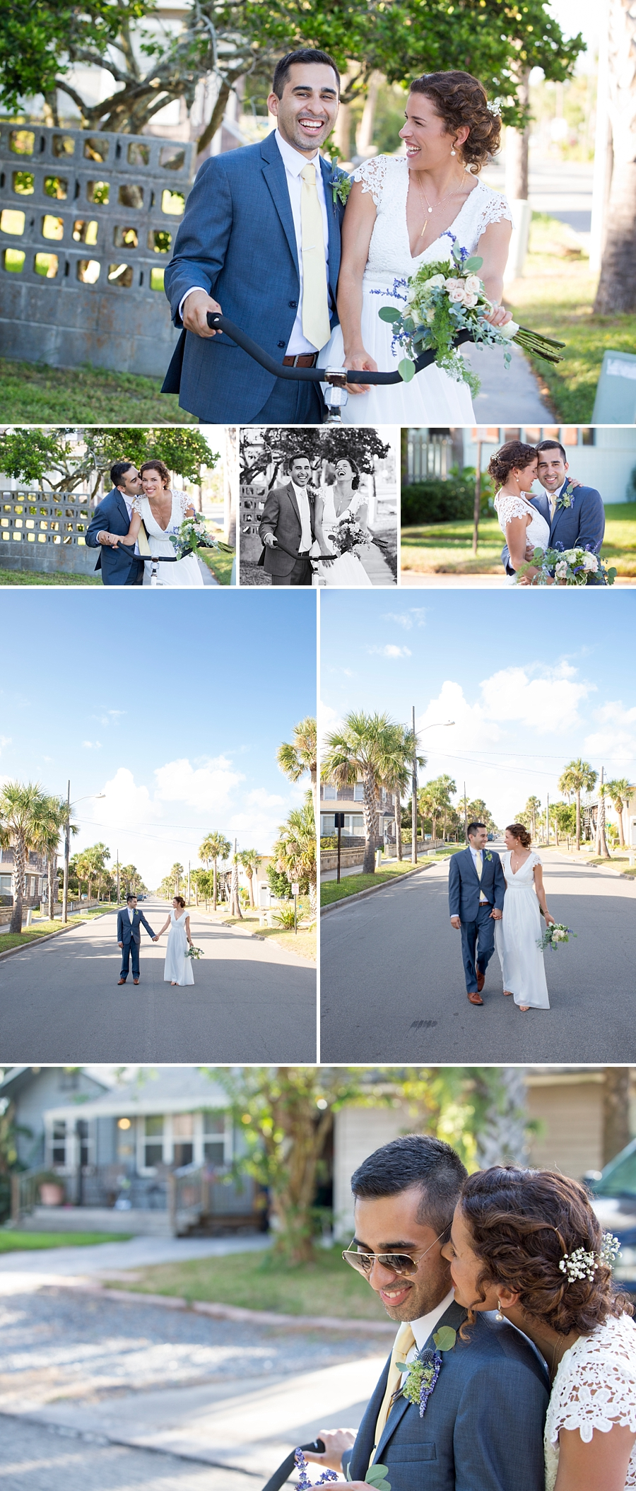 neptune beach wedding photos