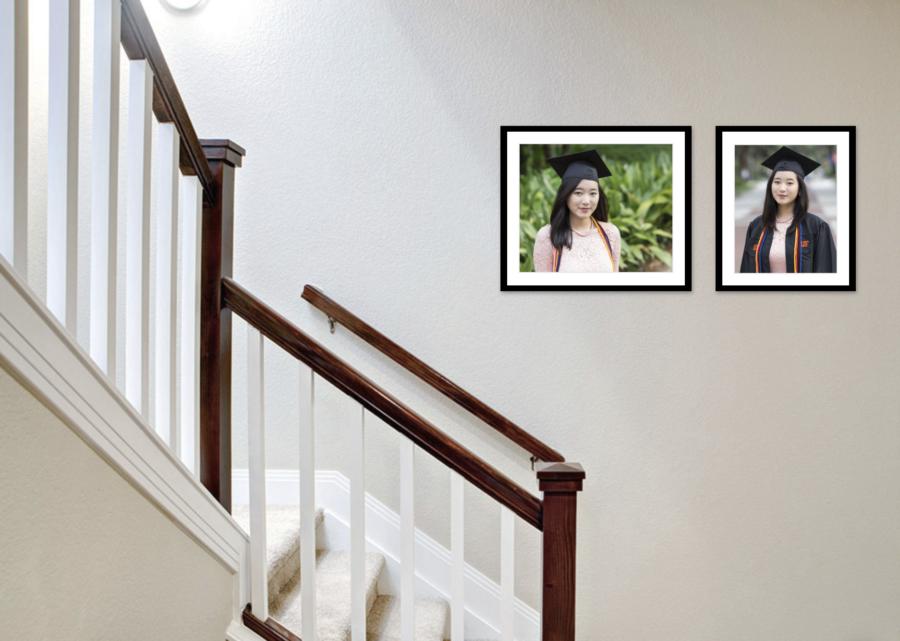 wall art for graduation photos