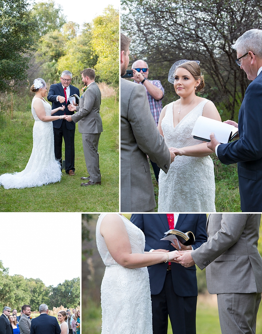 elopement ceremony paynes prairie
