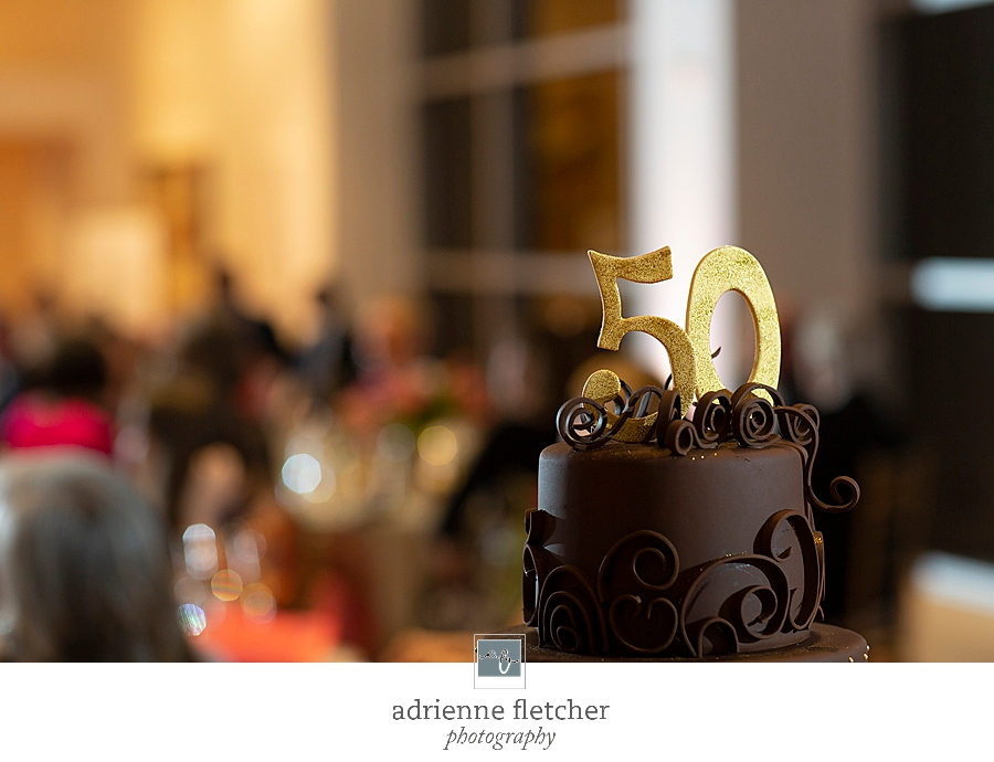 details from upscale birthday celebration