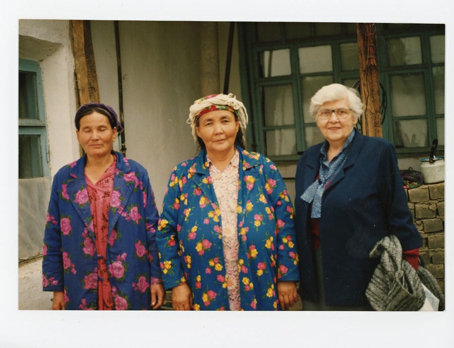 My grandmother in Uzbekistan in 1991