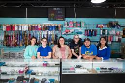 retail store staff shot