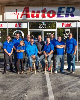 auto shop staff photo