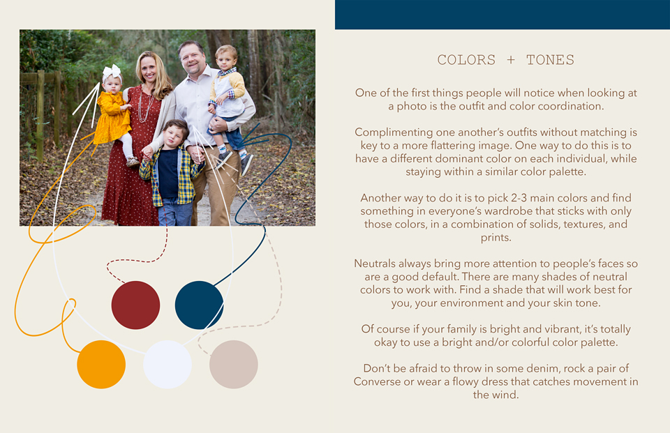 colors+tones for family portraits
